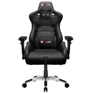 Warlord Templar Gaming Chair – Black