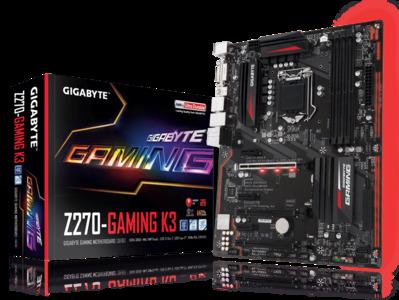 GIGABYTE GA-Z270-Gaming K3 (rev. 1.0) LGA 1151 Intel Z270 USB 3.1 ATX Motherboard
