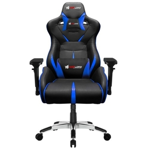 Warlord Templar Gaming Chair – Black/Blue
