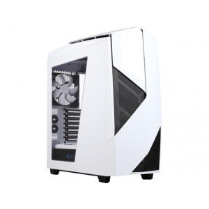 NZXT Noctis 450 Mid Tower Computer Case Glossy White CA-N450W-W1