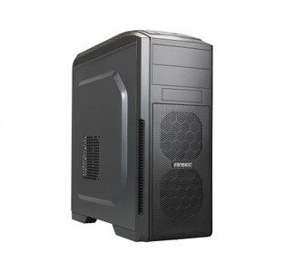 Antec GX500 Black Steel ATX Mid Tower PC Casing with Window