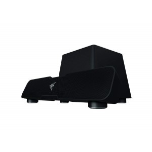 Razer Leviathan: Dolby 5.1 Suround Sound Bluetooth aptX Technology Dedicated Powerful Subwoofer for Deep Immersive Bass PC Gaming and Music Sound Bar