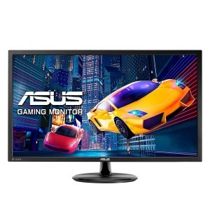"ASUS VP28UQG eSports Gaming LED Monitor - 28  4K  UHD (3840x2160)  1ms  AMD FreeSyncâ""¢  Flicker Free  Blue Light Filter"