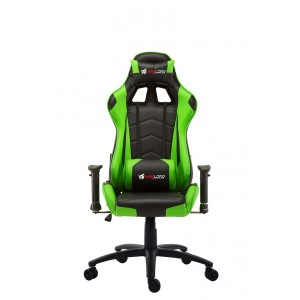 Warlord Huntsmen Gaming Chair - Black/Green