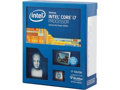 Intel Core i7-5820K Haswell-E 6-Core 3.3 GHz LGA 2011-v3 Desktop CPU/Processor