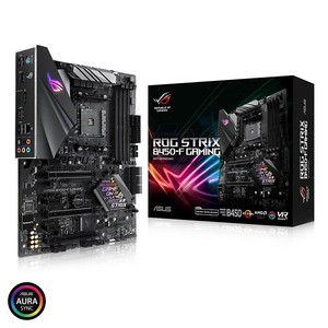 ASUS ROG STRIX B450-F GAMING AMD AM4 B450 DDR4 3200MHz AURA SYNC RGB LED LIGHTING ATX MOTHERBOARD