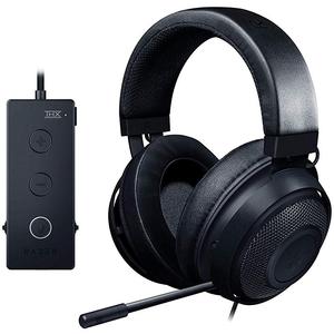 Razer Kraken Tournament Edition Gaming Headset  THX 7.1 Surround Sound USB DAC – For PC  Xbox  PS4  Nintendo Switch – Black