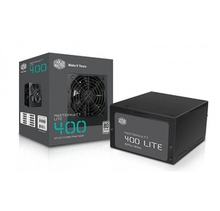 Cooler Master MasterWatt Lite 400W Power Supply for PC MPX-4001-ACABW