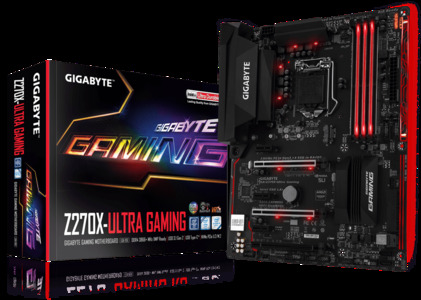 GIGABYTE GA-Z270X-Ultra Gaming (rev. 1.0) LGA 1151 Intel Z270 USB 3.1 ATX Motherboard