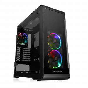 Thermaltake View 32 TG RGB 4 Tempered Glass Panels ATX Mid Tower Gaming Computer Case