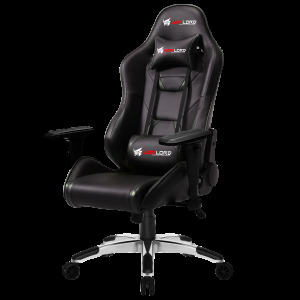 Warlord Phantom Gaming Chair - Black