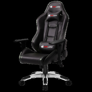 Warlord Phantom Gaming Chair – Black