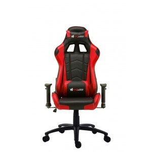 Warlord Huntsmen Gaming Chair - Black/Red
