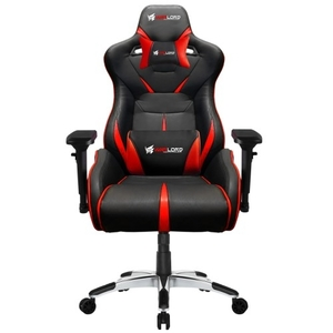 Warlord Templar Gaming Chair – Black/Red