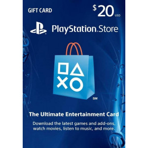 $20 PlayStation Store Gift Card - PS3/ PS4/ PS Vita [US Region Instant Digital Code]