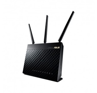 ASUS RT-AC68U Wireless-AC1900 Dual Band Gigabit AC Router