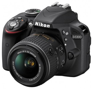 Nikon D3300 DSLR Camera with 18-55mm Lens