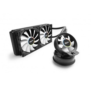 CRYORIG A40 Hybrid Water/Liquid Cooler With 240mm Radiator And Additional Airflow Fan - CR-A4A