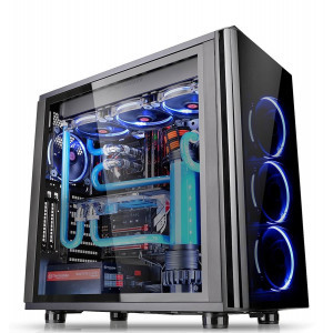 Thermaltake View 31 SPCC ATX Mid Tower Gaming Computer Case  CA-1H8-00M1WN-00