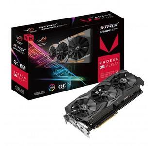 ASUS ROG Strix RX VEGA56 OC edition 8GB with Aura Sync RGB for best VR & 4K gaming