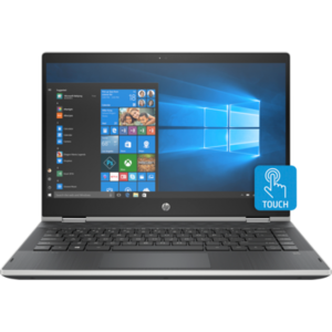 HP Pavilion X360 Notebook Cd1011TU Intel Core i5-8265 4GB RAM  500GB HDD  14″ HD AG LED SVA wHDC slim  WIN 10 Home  X360 TOUCH SCREEN  Natural Silver 5HW01PA