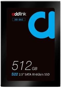 addlink S22 512GB 2.5″ SATA III (6Gb/s) SSD ad512GBS22S3s