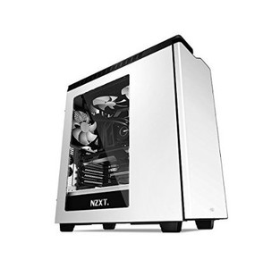 NEW NZXT H440 Mid Tower Include 4 x 2nd Gen FN V2 Fans  High-End WC support  USB3.0  PWM Fan hub  White/Black
