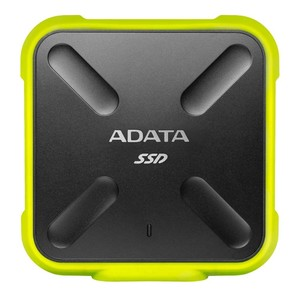 ADATA SD700 3D NAND 1TB Ruggedized Water/Dust/shock Proof External SSD