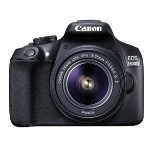 Canon EOS 1300D Digital SLR Camera with 18-55mm