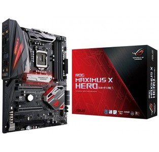 ASUS ROG Maximus X Hero (Wi-Fi AC) LGA 1151Intel Z370 HDMI SATA 6Gb/s USB 3.1 ATX Intel Motherboard