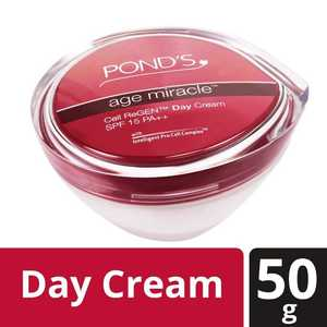 Ponds Age Miracle Cell ReGen Day Cream SPF 15 PA++ - 50gm - 28250086