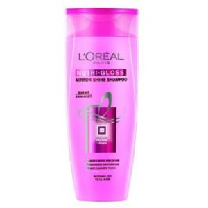 LOreal Paris Nutri Gloss Mirror Shine Shampoo - 360ml - 1066 - 3610340184499