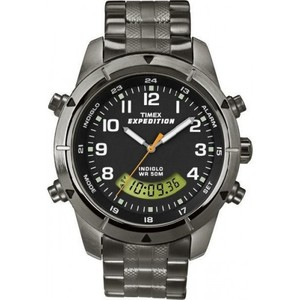 Timex Men's Expedition Rugged Chronograph Analog-Digital T49826