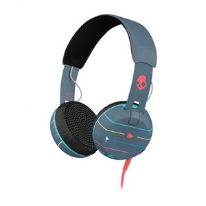 Skullcandy S5GRHT-469 Grind 2.0 On Ear Headphone - Gray