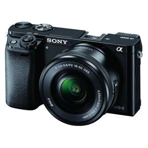 Sony Alpha A6000L 24.3MP Digital SLR Camera (Black) with 16-50mm Lens (ILCE-6000L)