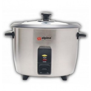 Alpina Stainless Steel Rice Cooker 1.5 Litres SF-1911