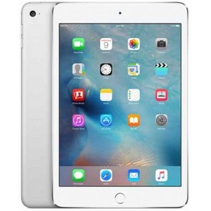 "Apple iPad Mini 4 - 128GB 2GB 8MP Camera (7.9"") Retina display Wi-Fi + 4G Silver"