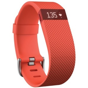 Fitbit Charge Heart Rate + Activity Wristband - Tangerine