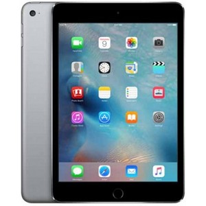 "Apple iPad Mini 4 - 128GB 2GB 8MP Camera (7.9"") Retina display Wi-Fi + 4G Grey"