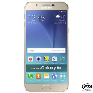 Samsung Galaxy A8 A800F (4G , 32 GB , Gold) - Official Warranty