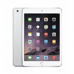 "Apple iPad Mini 3 - 128GB 2GB 8MP Camera (7.9"") Retina display Wi-Fi+4G SILVER"