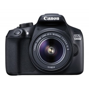 Canon EOS 1300D 18MP Digital SLR Camera With 18-55mm ISII Lens