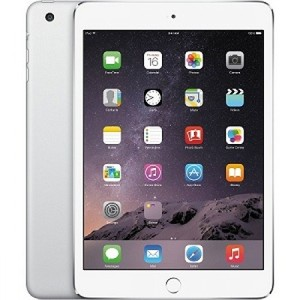 "Apple iPad Mini 3 - 16GB 2GB 8MP Camera (7.9"") Retina display Wi-Fi SILVER"