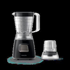 Philips Blender 350W,1.25 L Plastic jar,4 stars stainless steel blade (HR2056/90)