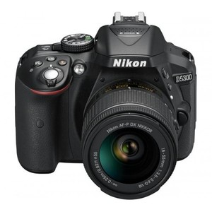 Nikon D5300 kit with 18-55mm VR and 55-300mm VR Lens Digital