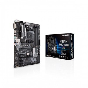 Asus PRIME B450-PLUS AMD AM4 ATX Motherboard