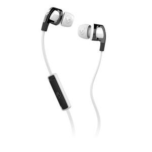 Skullcandy Smokin Buds 2 w Mic Black / White Earbuds S2PGFY-328