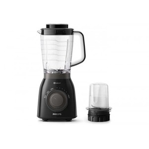Philips Blender 600W,2L Tritan jar, ProBlend 5, Ice Crusher with mini chopper (HR2157/92)