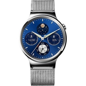 HUAWEI SMARTWATCH STAINLESS STEEL CASE & MESH BAND