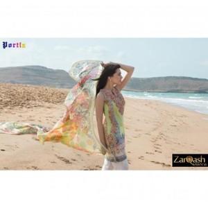 Zarqash Luxury Lawn 2016 (Portia Fabrics) ZQL-2A